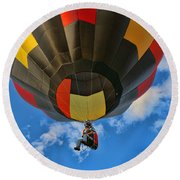 Balloon Fantasy 28 Round Beach Towel