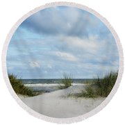 Baltic Sea Round Beach Towel