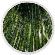 Bamboo 01 Round Beach Towel