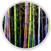 Bamboo Dreams #14 Round Beach Towel