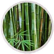 Bamboo  Round Beach Towel