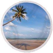 Ban Harn Beach Round Beach Towel