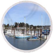 Bandon 19 Round Beach Towel