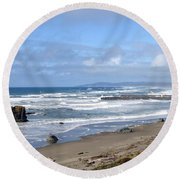 Bandon 21 Round Beach Towel