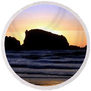 Bandon 22 Round Beach Towel