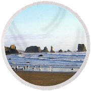 Bandon 36 Round Beach Towel