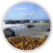 Bandon 4 Round Beach Towel
