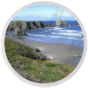 Bandon 8 Round Beach Towel
