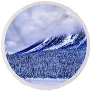 Banff National Park, Calgary Round Beach Towel