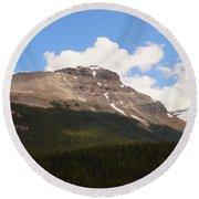Banff National Park IIi Round Beach Towel