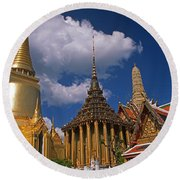 Bangkok Round Beach Towel