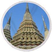 Bangkok, Wat Po Round Beach Towel