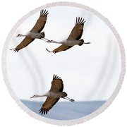 Bank Right Round Beach Towel
