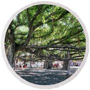 Banyan Tree Round Beach Towel
