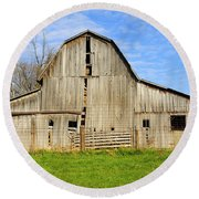 Barn 101 Round Beach Towel