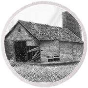 Barn 19 Round Beach Towel
