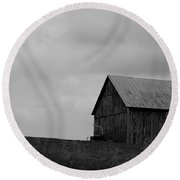 Barn 8 Round Beach Towel