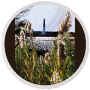 Barnegat Bay Round Beach Towel