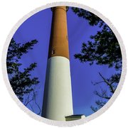 Barnegat Light Standing Tall Round Beach Towel