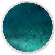 Barrel Swirl  -  Triptych  Part 3 Of 3 Round Beach Towel