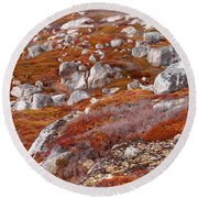Barrens Round Beach Towel