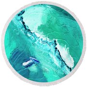 Barrier Reef Round Beach Towel