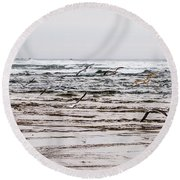 Bastendorff Beach Round Beach Towel
