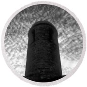 Bastion Of St. Augustine Round Beach Towel