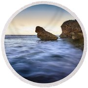 Bathsheba Flow Round Beach Towel