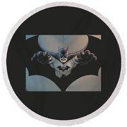 Batman Incorporated Round Beach Towel
