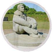 Battle Of Britain Memorial Round Beach Towel