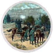 Battle Of Chattanooga Round Beach Towel