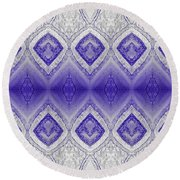 Be Agreeable Round Beach Towel