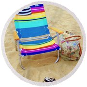Beach Attire Round Beach Towel