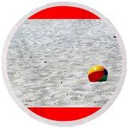Beach Ball Round Beach Towel