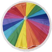 Beach Brolly Round Beach Towel