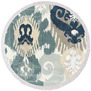 Beach Curry IIi Round Beach Towel