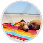 Beach Dreams Are Made Of These Round Beach Towel