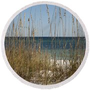 Beach Dune Round Beach Towel