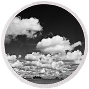 Beach Far And Wide Round Beach Towel