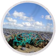Beach Net Round Beach Towel