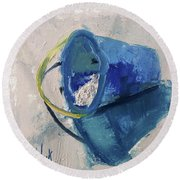 Beach Pail Pal Round Beach Towel