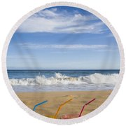 Beach Party Round Beach Towel