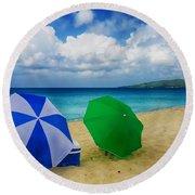 Beach Picnic Round Beach Towel