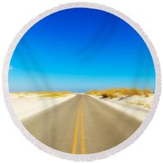 Beach Road Round Beach Towel