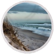 Beach Surrender Round Beach Towel