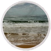 Beach Syd01 Round Beach Towel