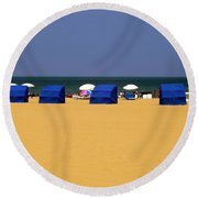 Beach Tents Round Beach Towel