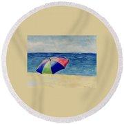 Beach Umbrella Round Beach Towel