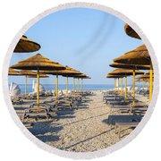 Beach Umbrellas  Round Beach Towel